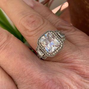 Jewelry - CZ halo ring